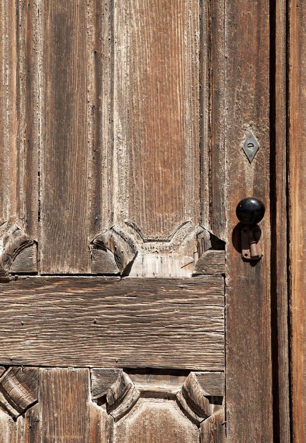Puerta del pueblo fantasma imagen de archivo libre de regalías