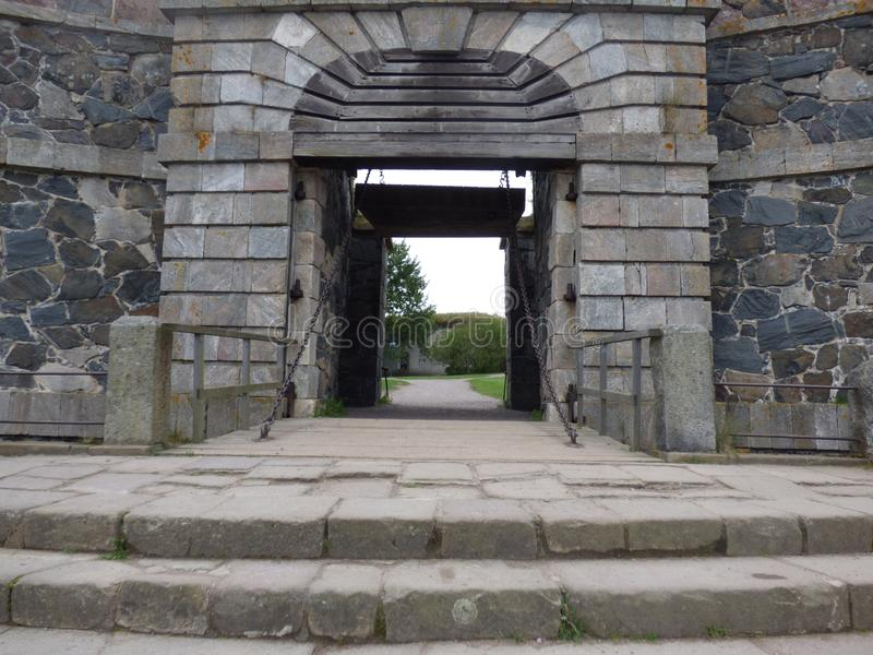 Puerta del ` s del rey foto de archivo libre de regalías