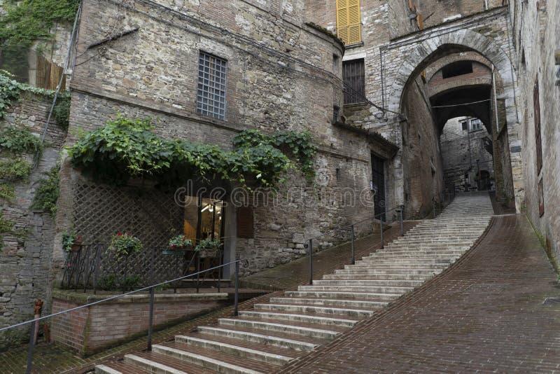 Puerta del santo Ercolano en Perugia fotografía de archivo libre de regalías