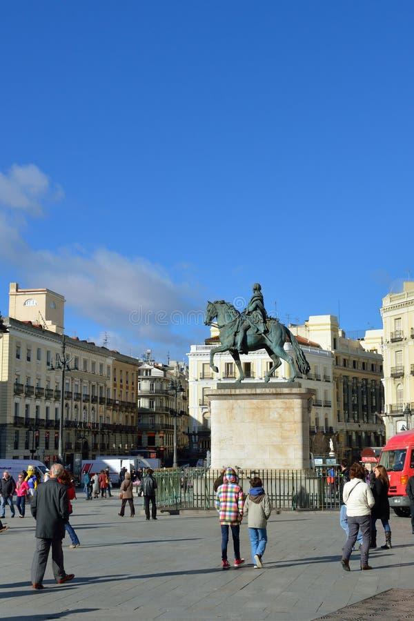 Puerta del Sol стоковые изображения rf