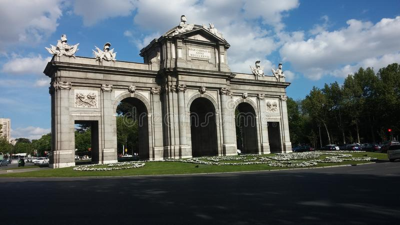 Puerta Del Zol fotografia royalty free