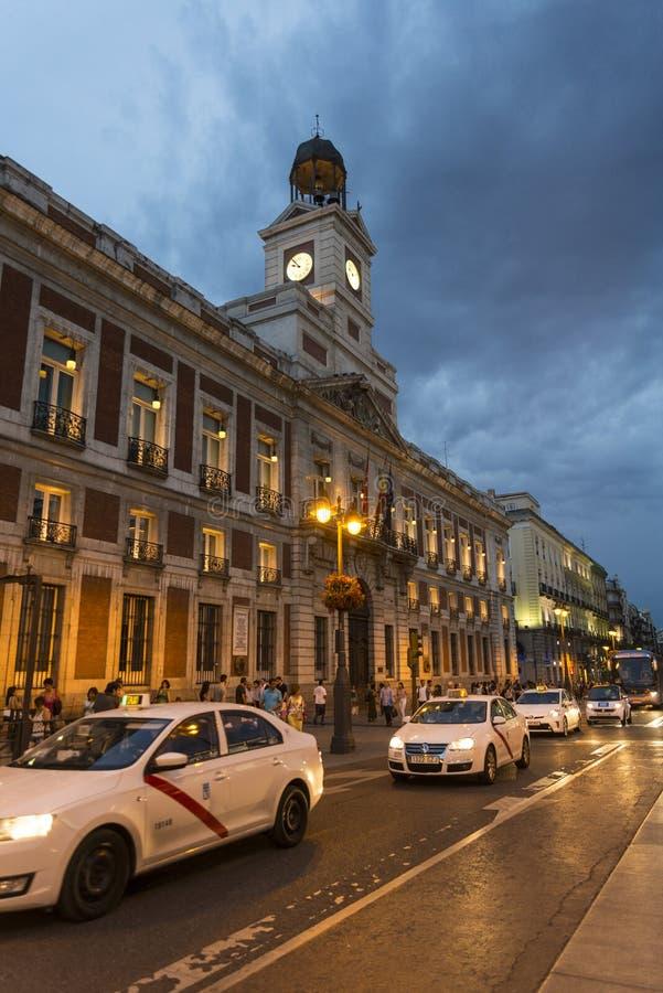 Puerta Del Zol, Madryt, Hiszpania zdjęcie stock