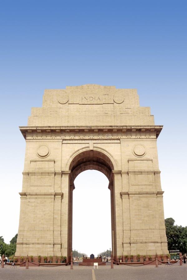 Puerta Delhi de la India foto de archivo