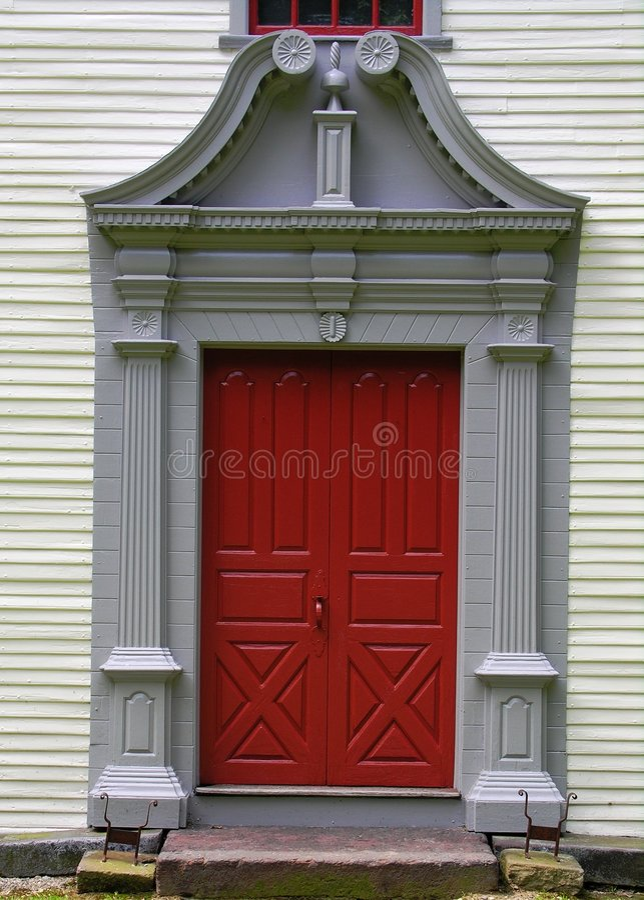 Puerta en hogar de la vendimia imagenes de archivo