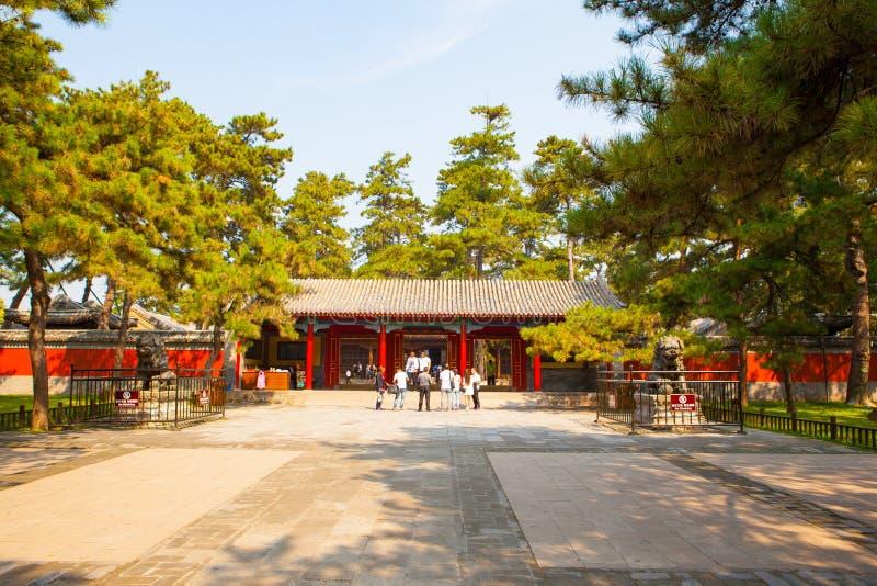 Puerta escena-principal imperial del centro turístico de verano de Chengde imágenes de archivo libres de regalías