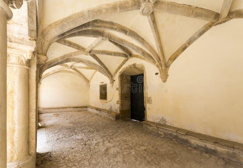 Puerta exterior en Micha Cloister imagen de archivo libre de regalías