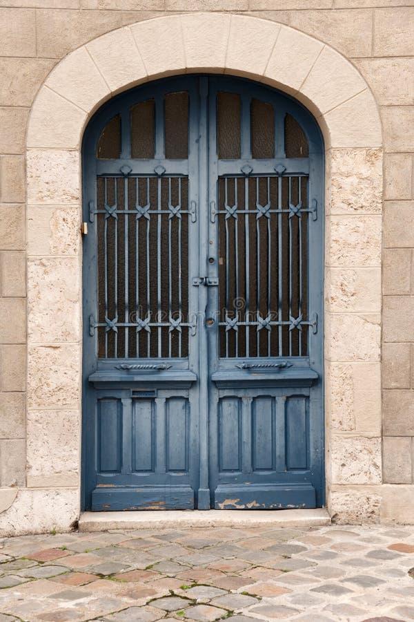 Puerta francesa imagen de archivo libre de regalías