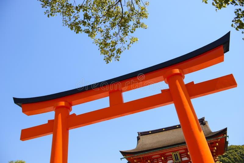 Puerta japonesa fotografía de archivo