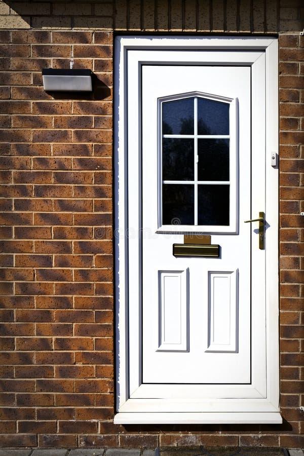 Puerta principal inglesa foto de archivo libre de regalías