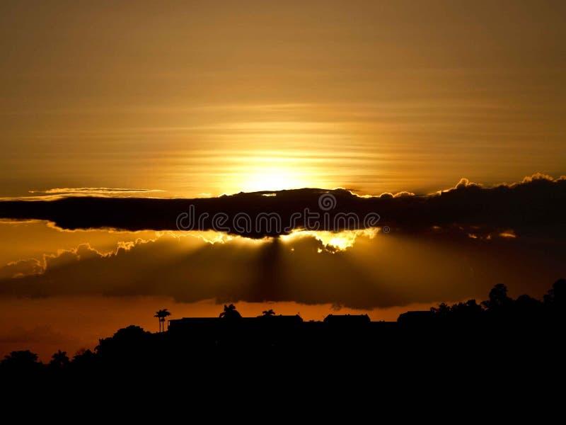 Puerta a las nubes imagen de archivo libre de regalías