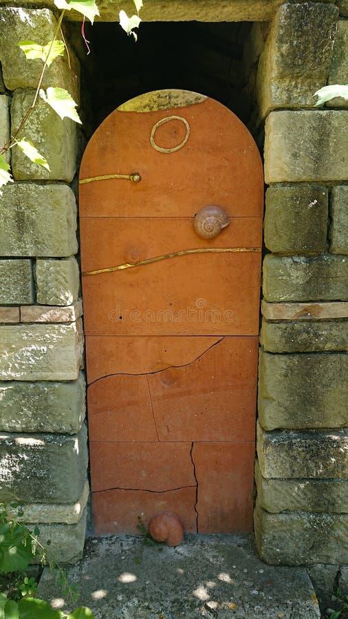 Puerta mágica imagen de archivo