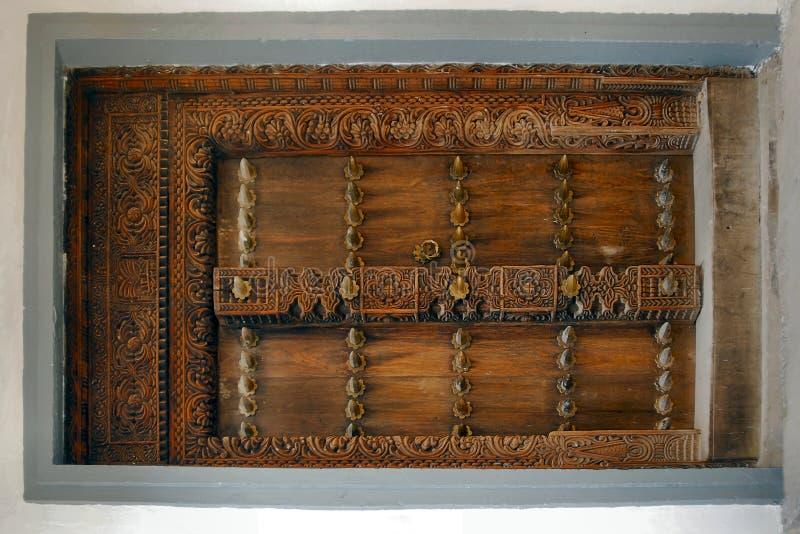 Puerta manufacturada fotografía de archivo libre de regalías