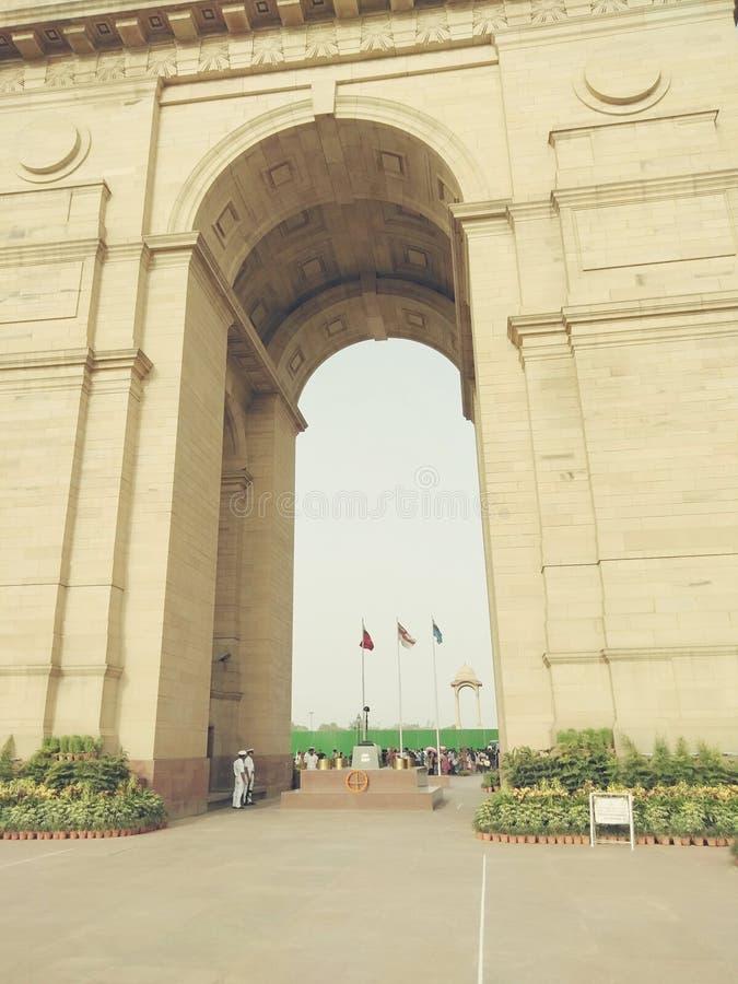 Puerta Nueva Deli de la India fotografía de archivo libre de regalías