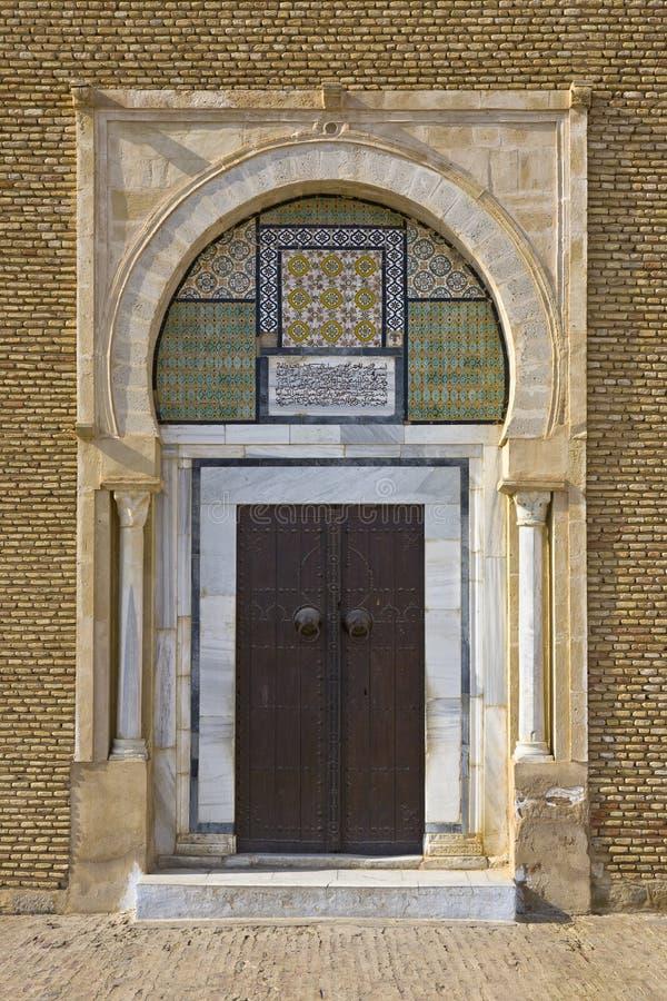 Puerta ornamental árabe fotos de archivo