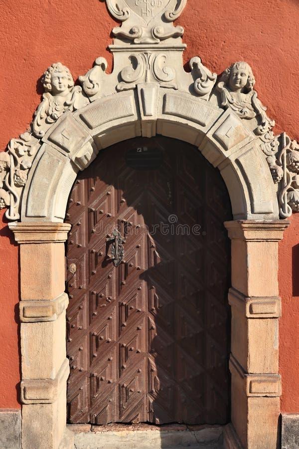 Puerta ornamental imagen de archivo libre de regalías