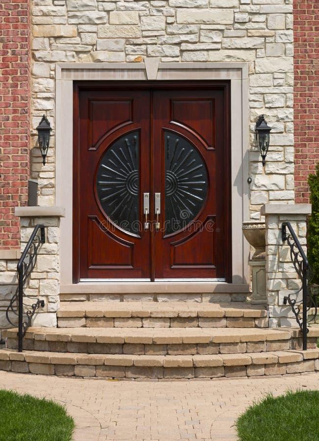 Puerta principal foto de archivo