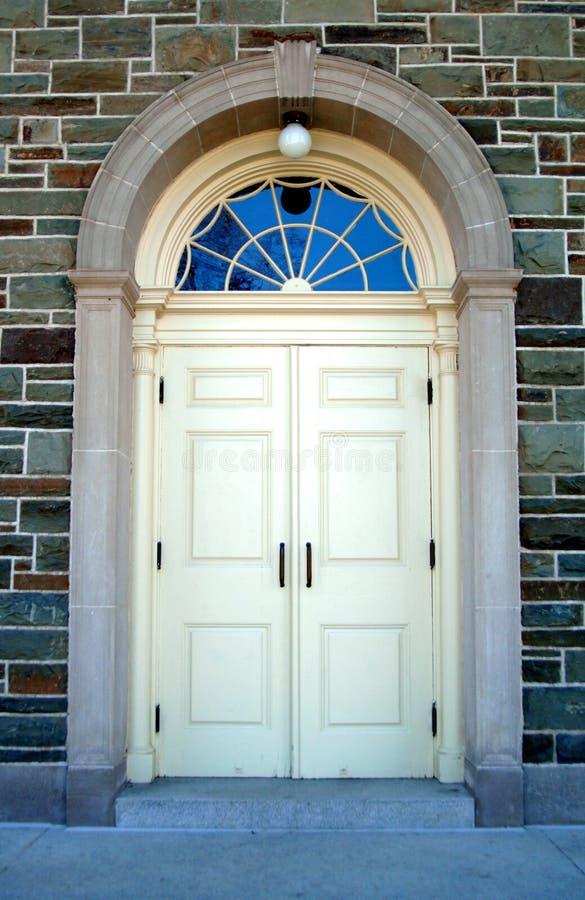 Puerta principal   imagenes de archivo