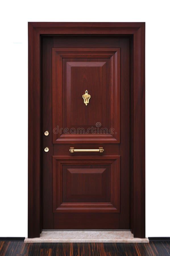 Puerta principal moderna foto de archivo libre de regalías