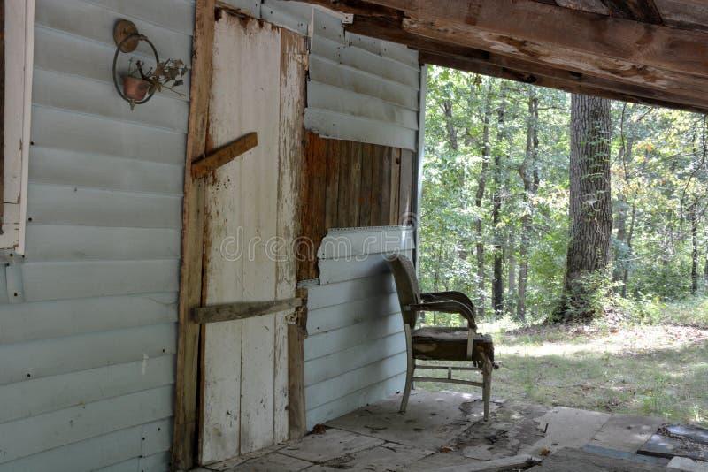 Puerta principal y pórtico fotografía de archivo