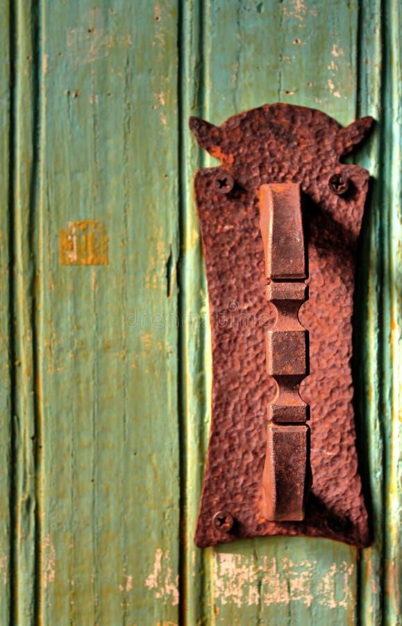 Puerta rústica foto de archivo libre de regalías