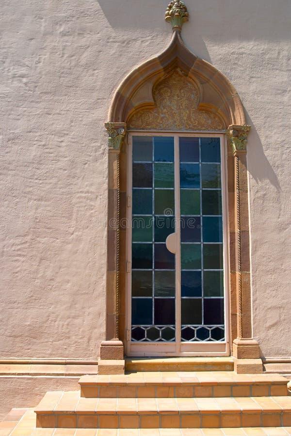 Puerta veneciana del estilo imágenes de archivo libres de regalías