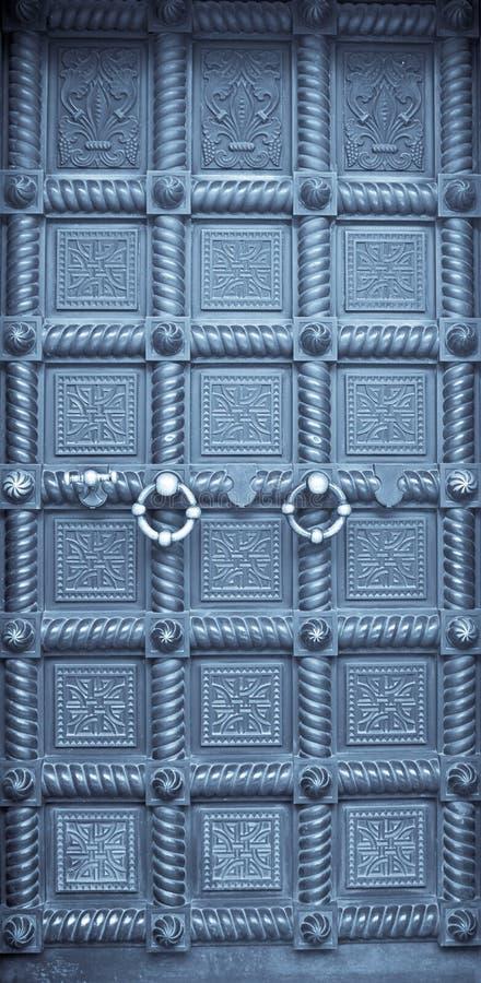 Puerta vieja imágenes de archivo libres de regalías