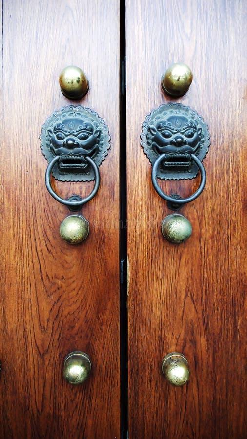 Puerta vieja de China fotografía de archivo