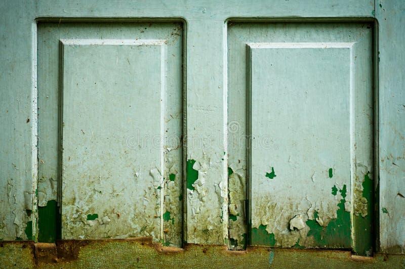 Puerta vieja, fondo de madera de la textura con el modelo natural foto de archivo