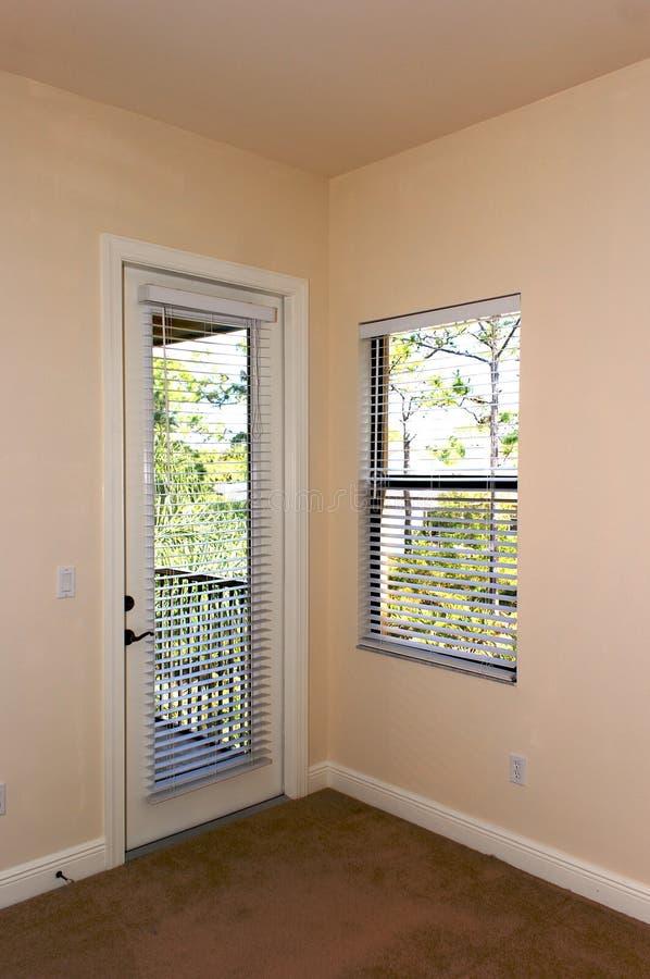 Puerta y ventana fotografía de archivo