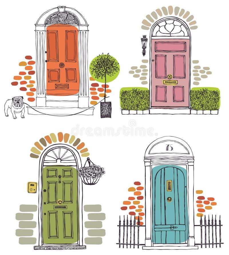 Puertas libre illustration
