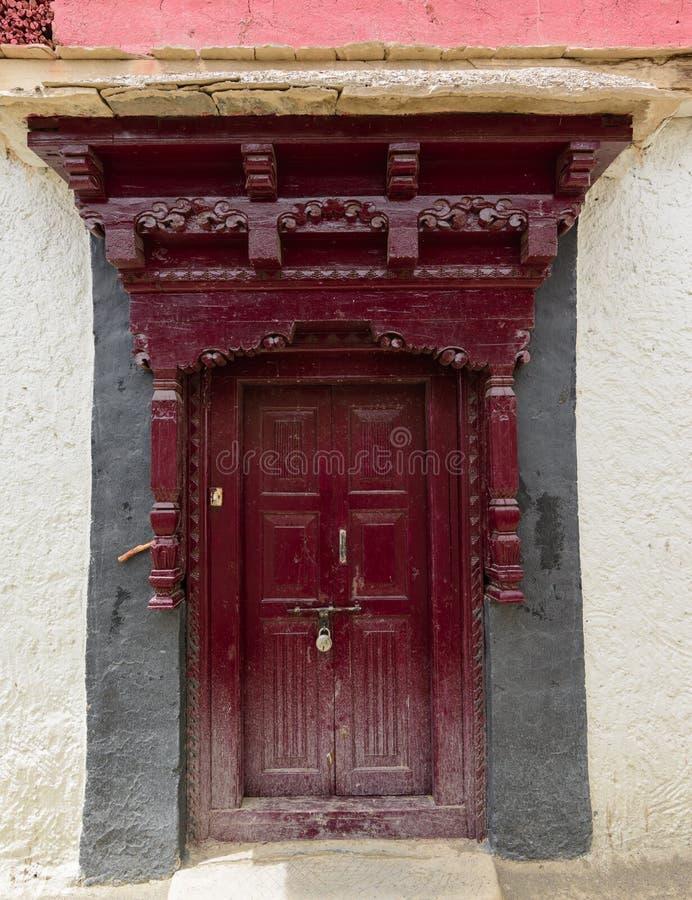 Puertas antiguas de la India foto de archivo libre de regalías