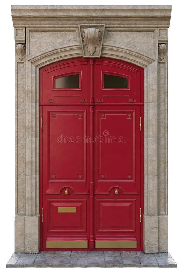 Puertas clásicas de la entrada imagen de archivo libre de regalías