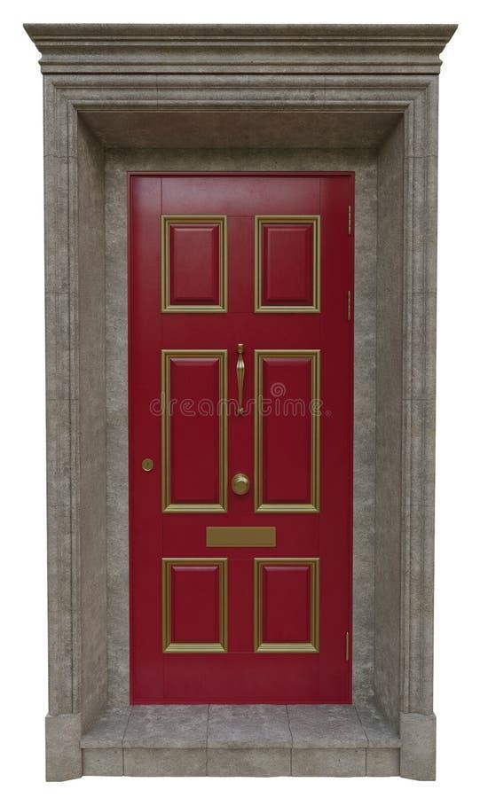 Puertas clásicas de la entrada imagenes de archivo