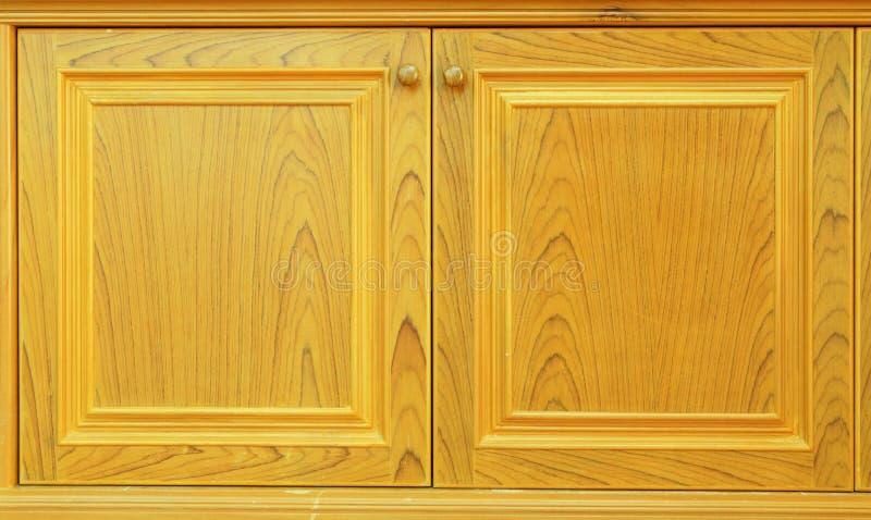 Puertas de cabina de madera foto de archivo libre de regalías