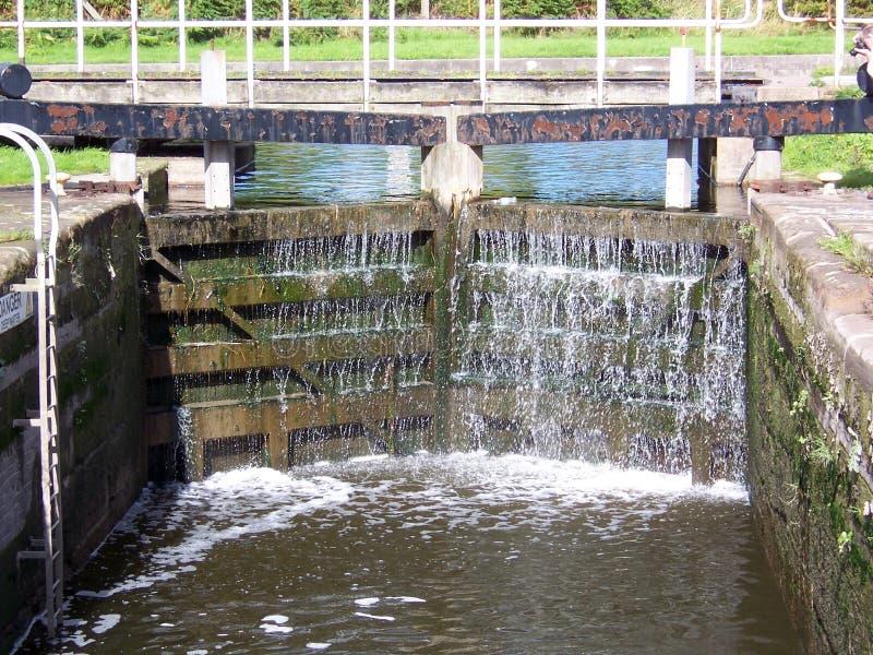Puertas de esclusa 4 fotos de archivo