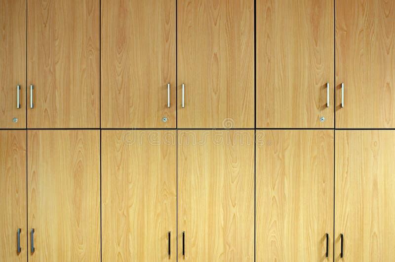 Puertas de gabinete imágenes de archivo libres de regalías
