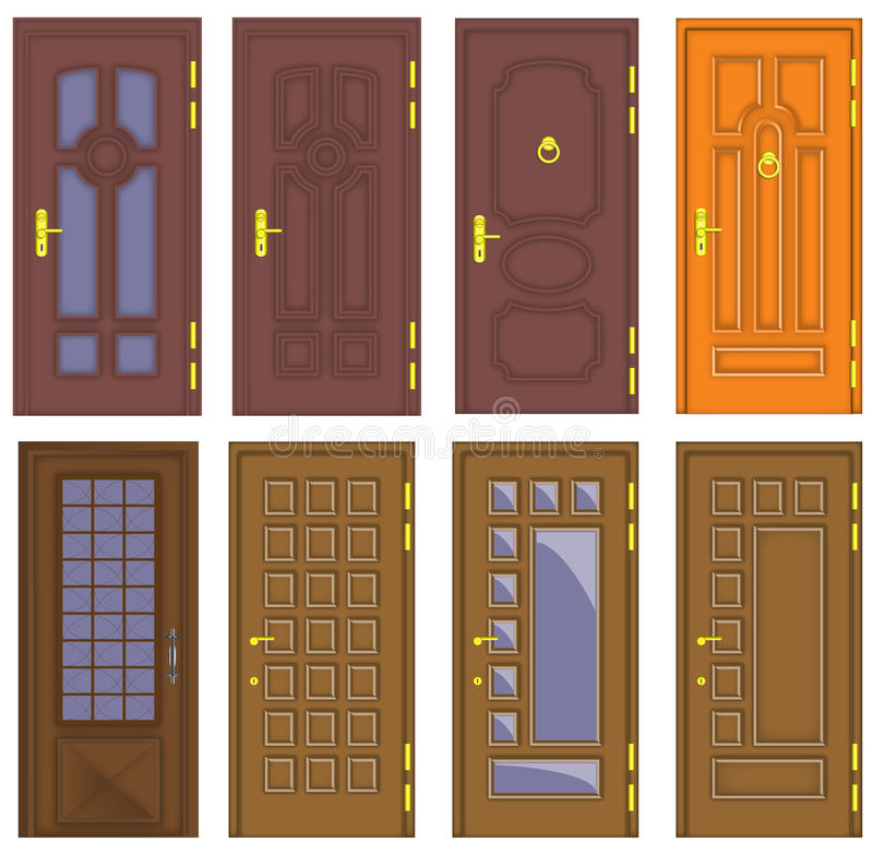 Puertas de madera interiores y delanteras cl sicas - Puertas de madera clasicas ...