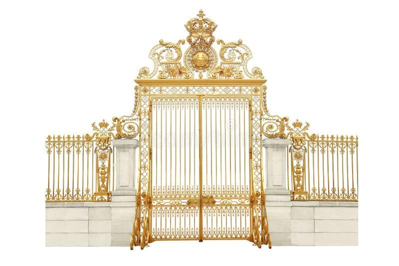 Puertas de oro imagen de archivo libre de regalías