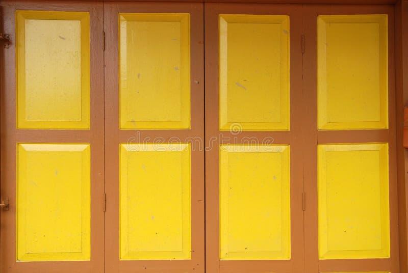 Puertas de plegamiento coloridas fotografía de archivo libre de regalías