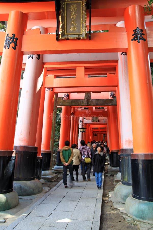 Puertas de Torii fotografía de archivo libre de regalías