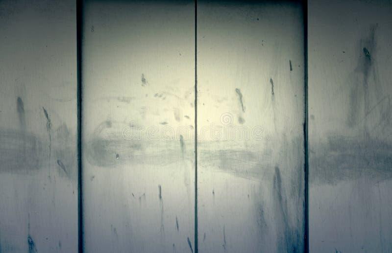 Puertas del metal de un elevador fotos de archivo
