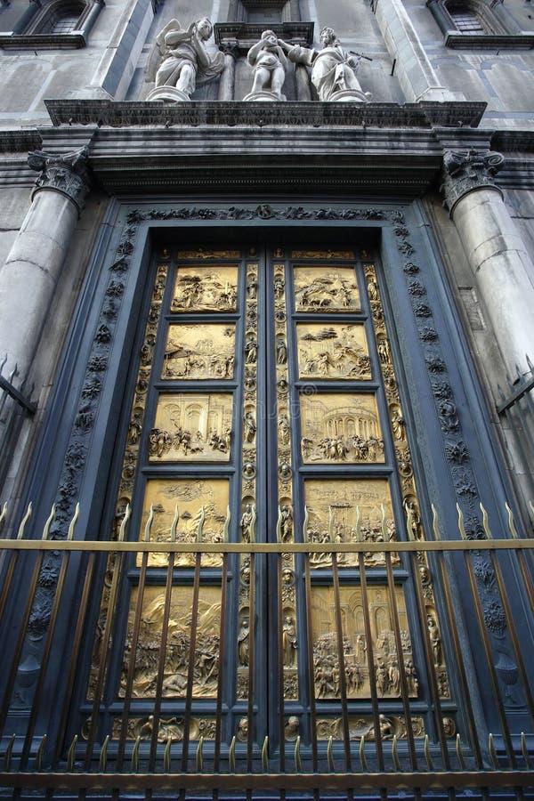 Puertas del paraíso fotos de archivo