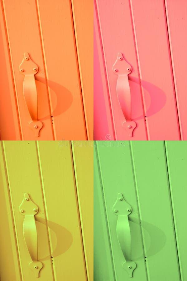 Puertas del verano fotografía de archivo libre de regalías