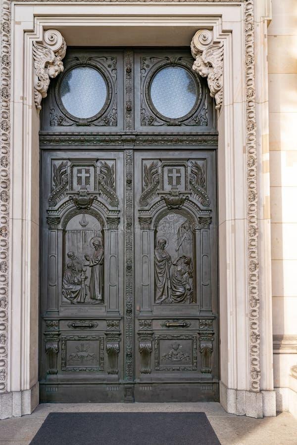 Puertas en Berlín fotografía de archivo