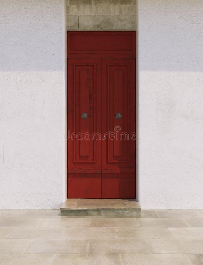 Puertas en colores brillantes foto de archivo