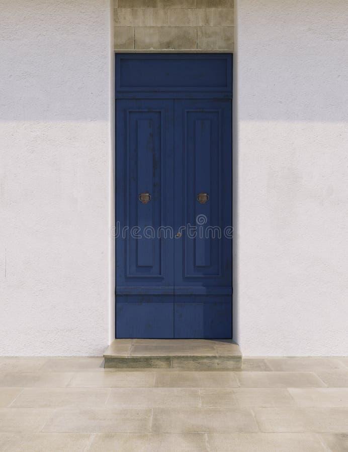 Puertas en colores brillantes foto de archivo libre de regalías