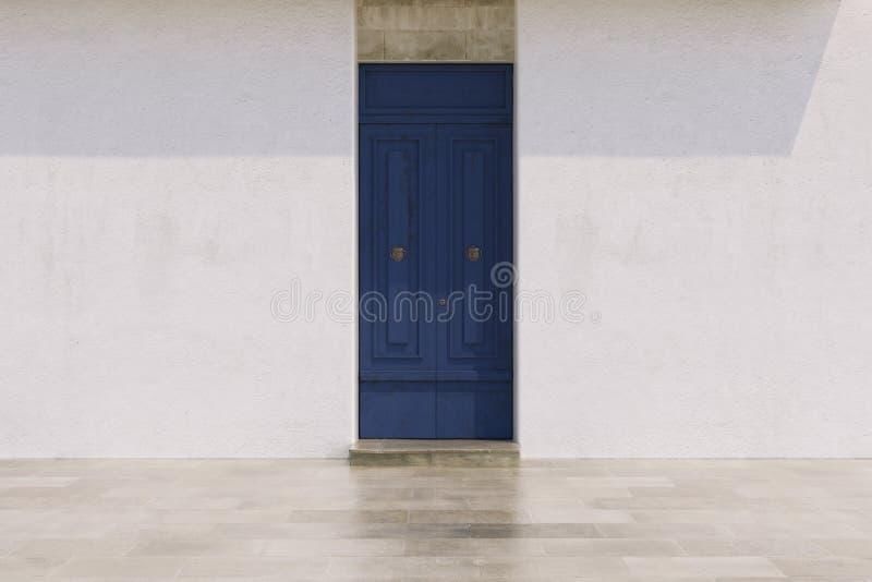 Puertas en colores brillantes imagen de archivo