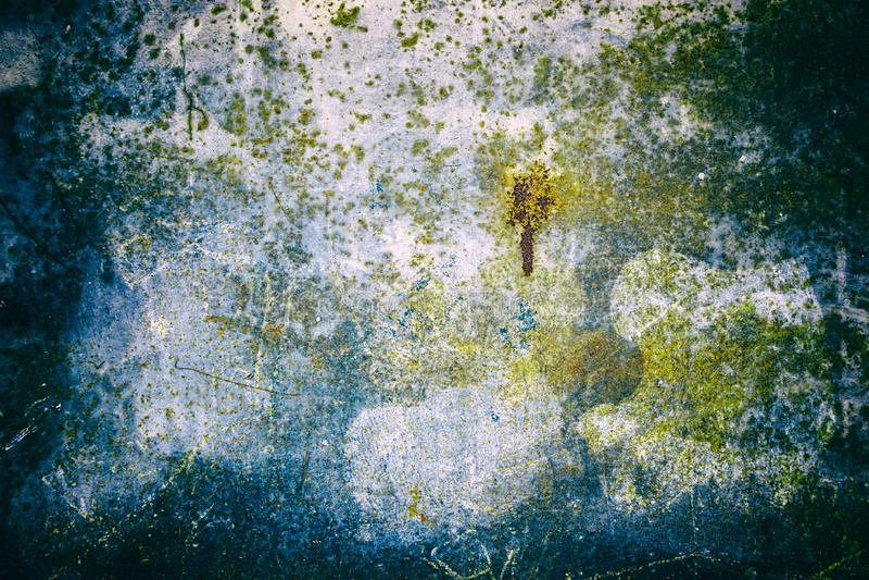 Puertas oxidadas y abandonadas del metal imagen de archivo libre de regalías