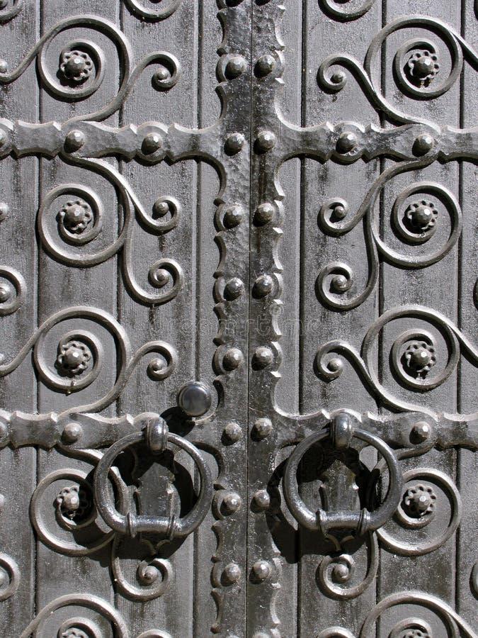 Puertas viejas fotografía de archivo