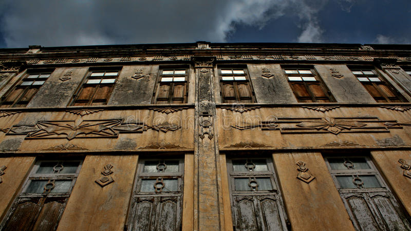 Puertas y ventanas foto de archivo